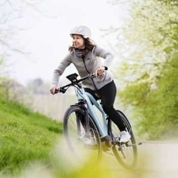 Sportive Biking woman Bed and Breakfast Costa Blanca Spain